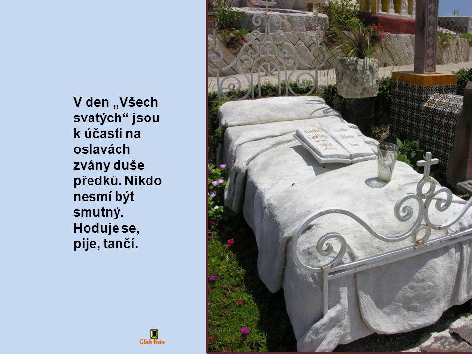"""V den """"Všech svatých jsou k účasti na oslavách zvány duše předků"""