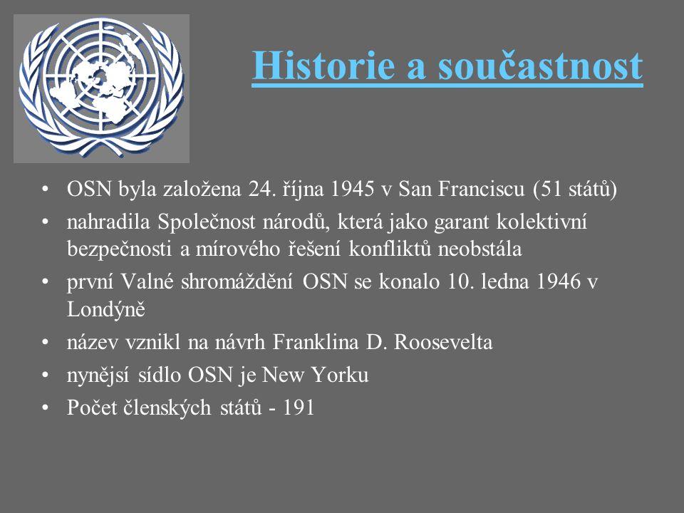 Historie a součastnost