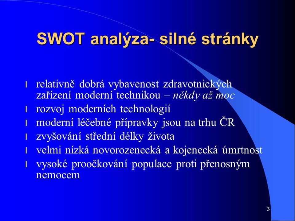 SWOT analýza- silné stránky