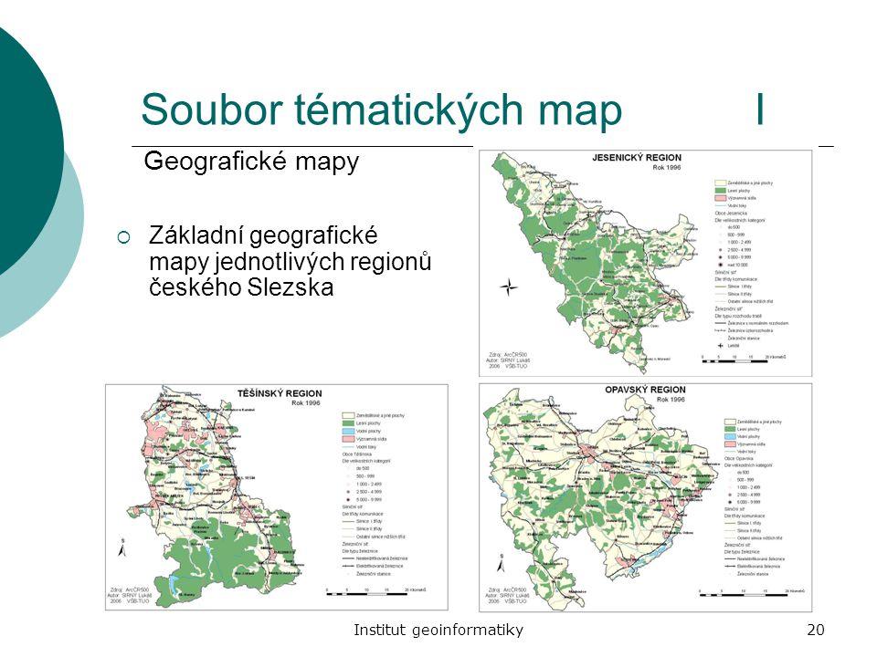Soubor tématických map I