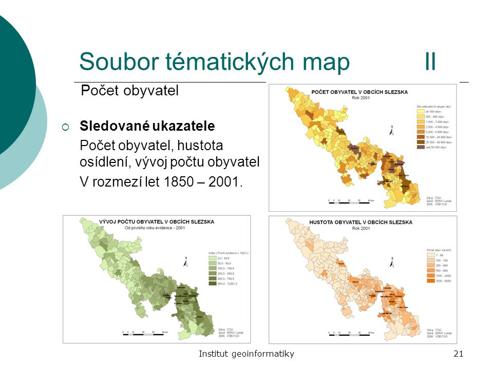 Soubor tématických map II