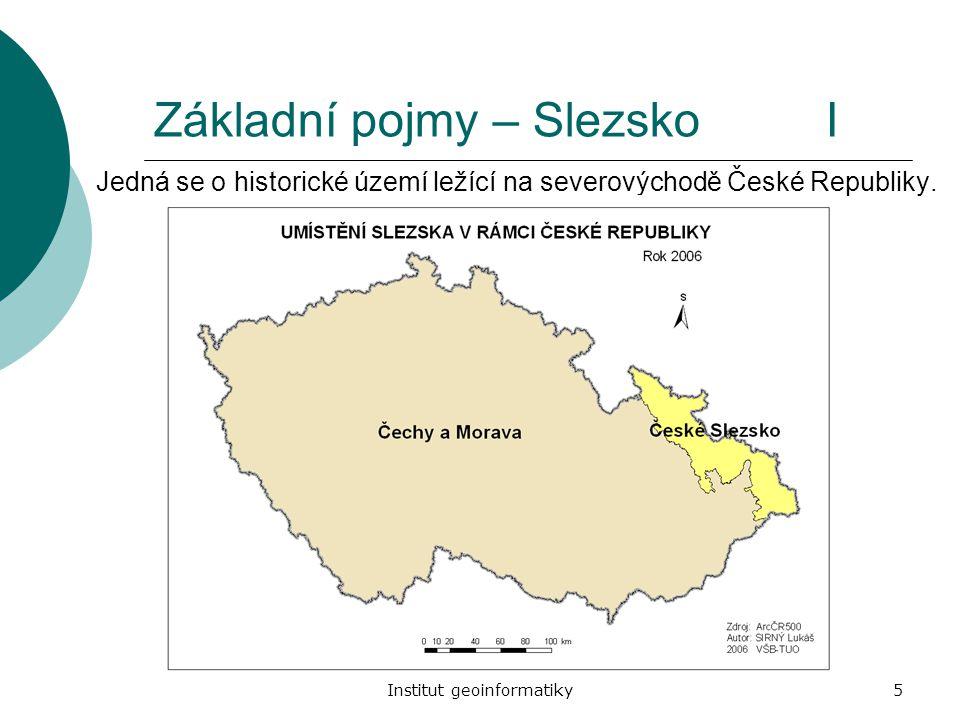 Základní pojmy – Slezsko I