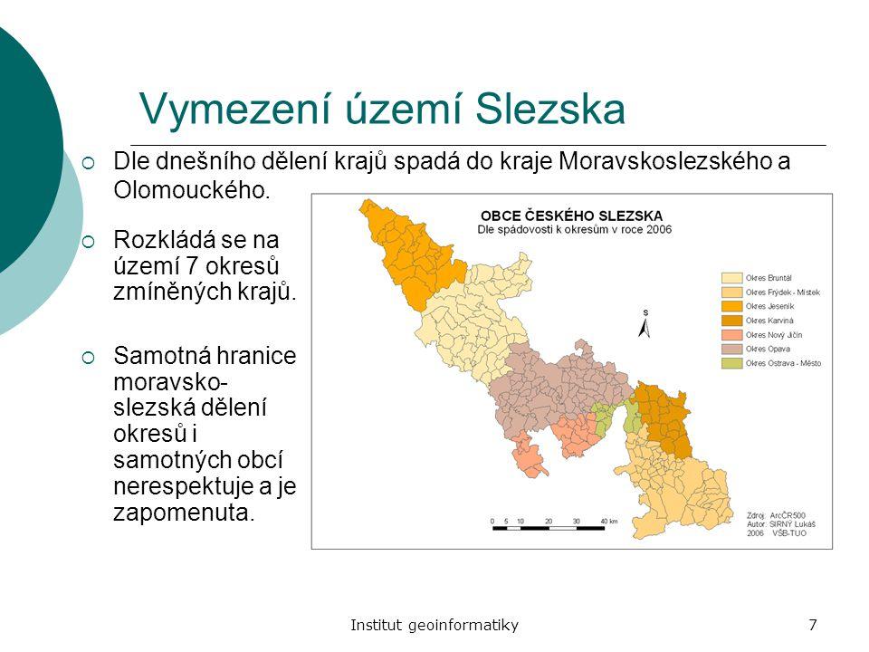 Vymezení území Slezska