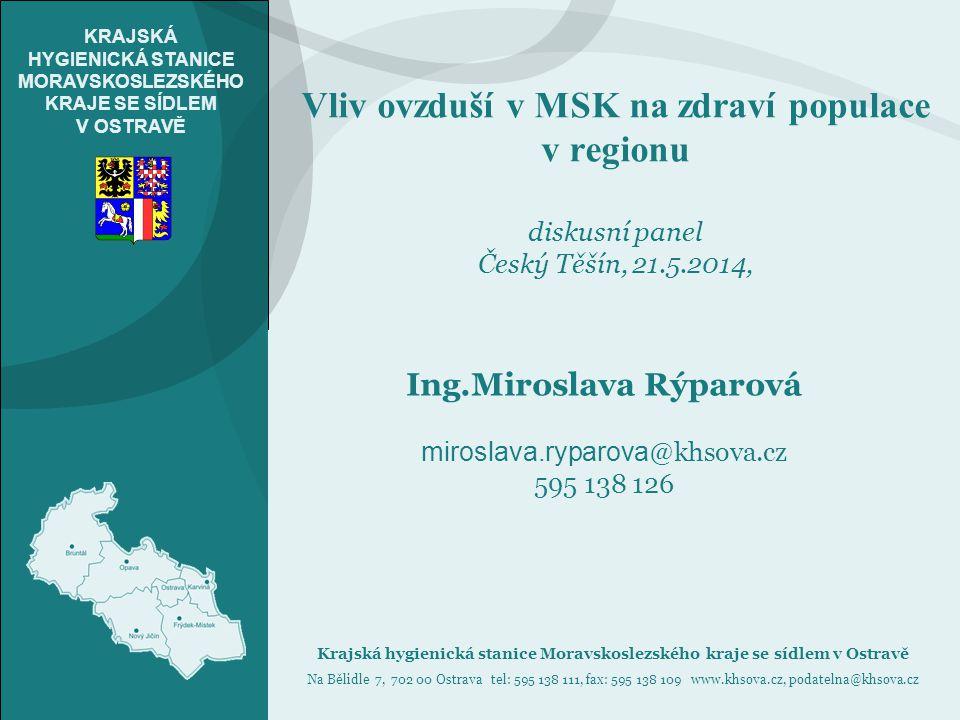 Ing.Miroslava Rýparová miroslava.ryparova@khsova.cz 595 138 126