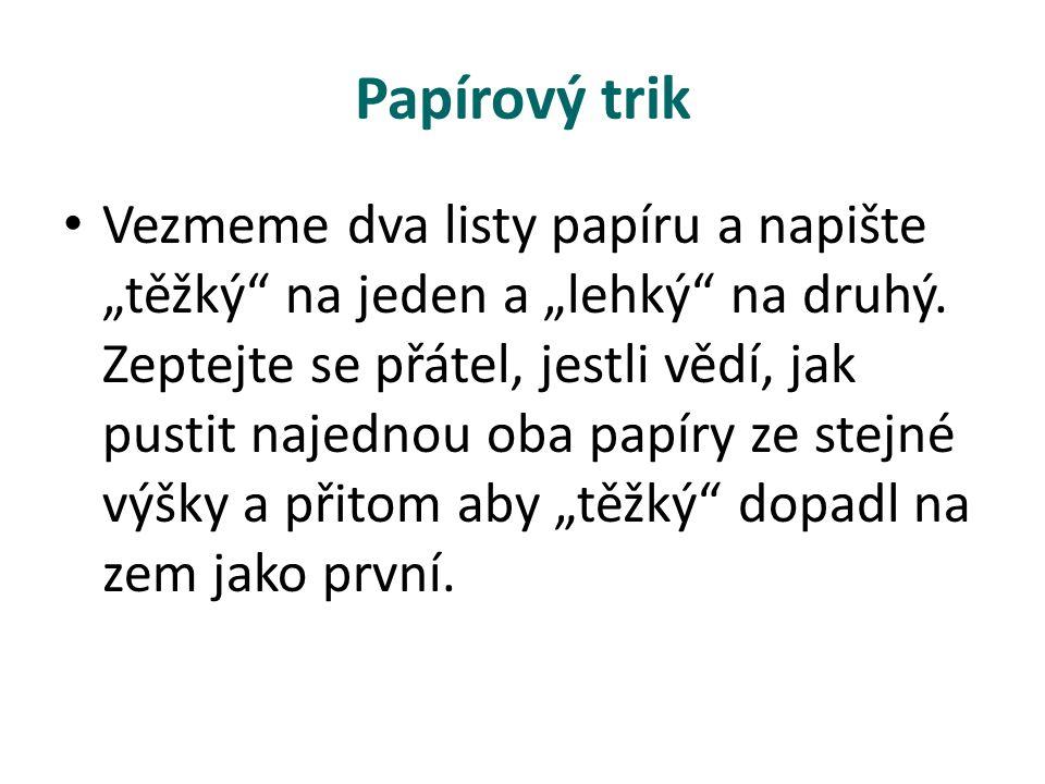 Papírový trik