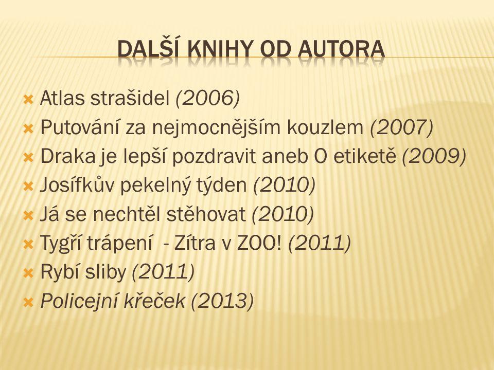 Další knihy od autora Atlas strašidel (2006)