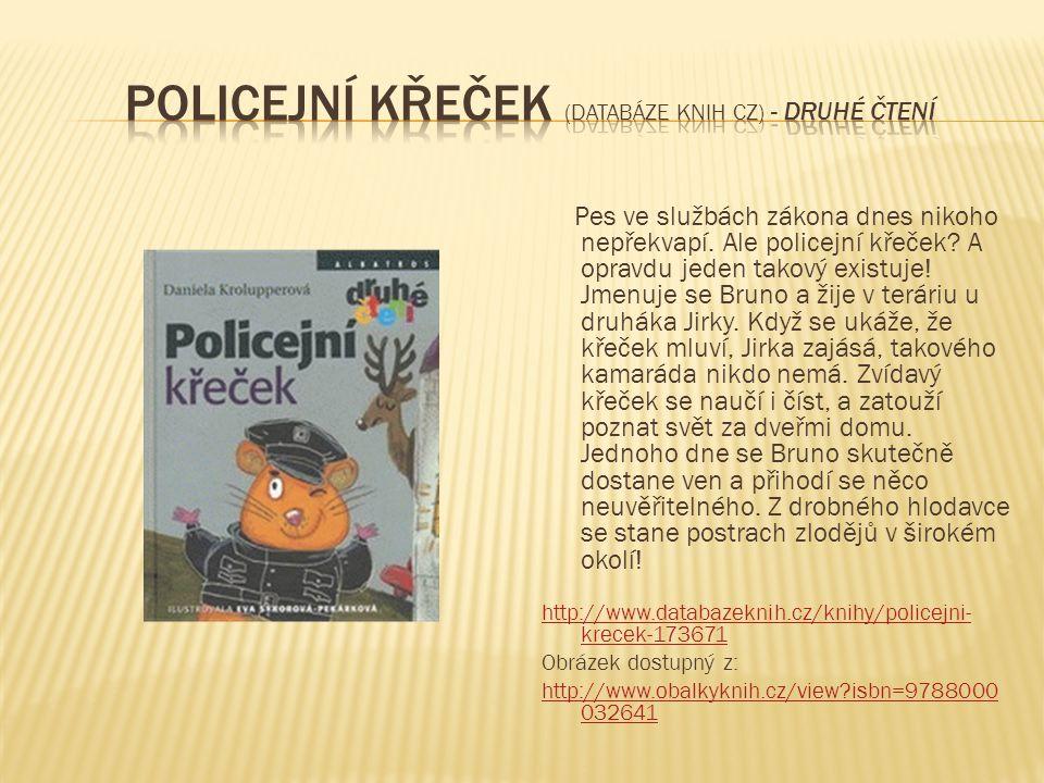 Policejní křeček (Databáze knih cz) - druhé čtení