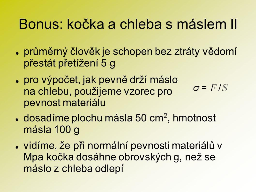 Bonus: kočka a chleba s máslem II