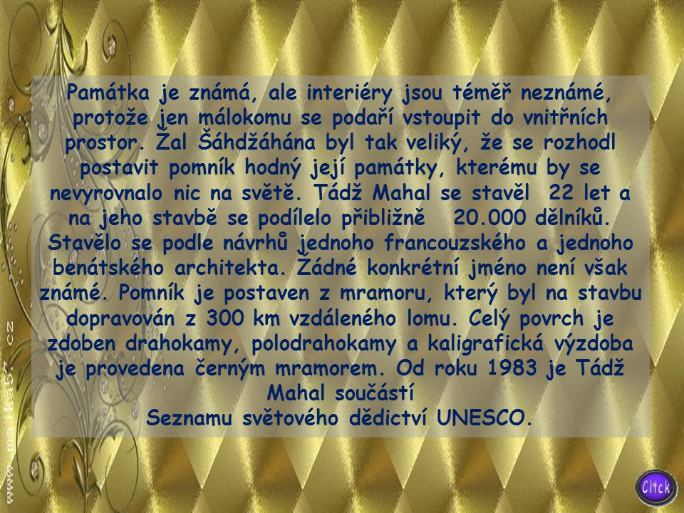 Seznamu světového dědictví UNESCO.