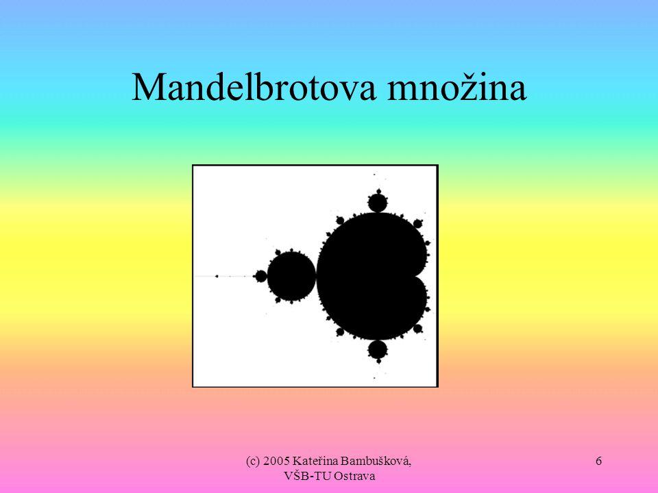 Mandelbrotova množina