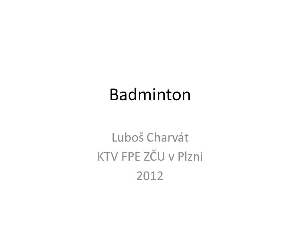 Luboš Charvát KTV FPE ZČU v Plzni 2012
