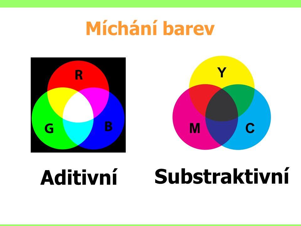 Aditivní Substraktivní