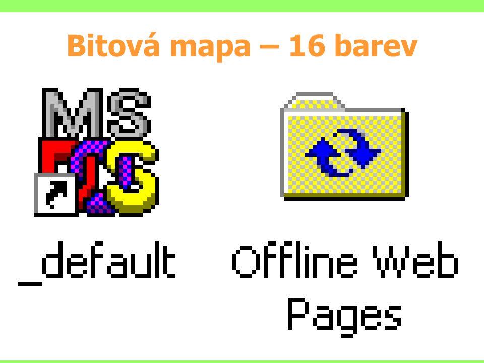 Bitová mapa – 16 barev