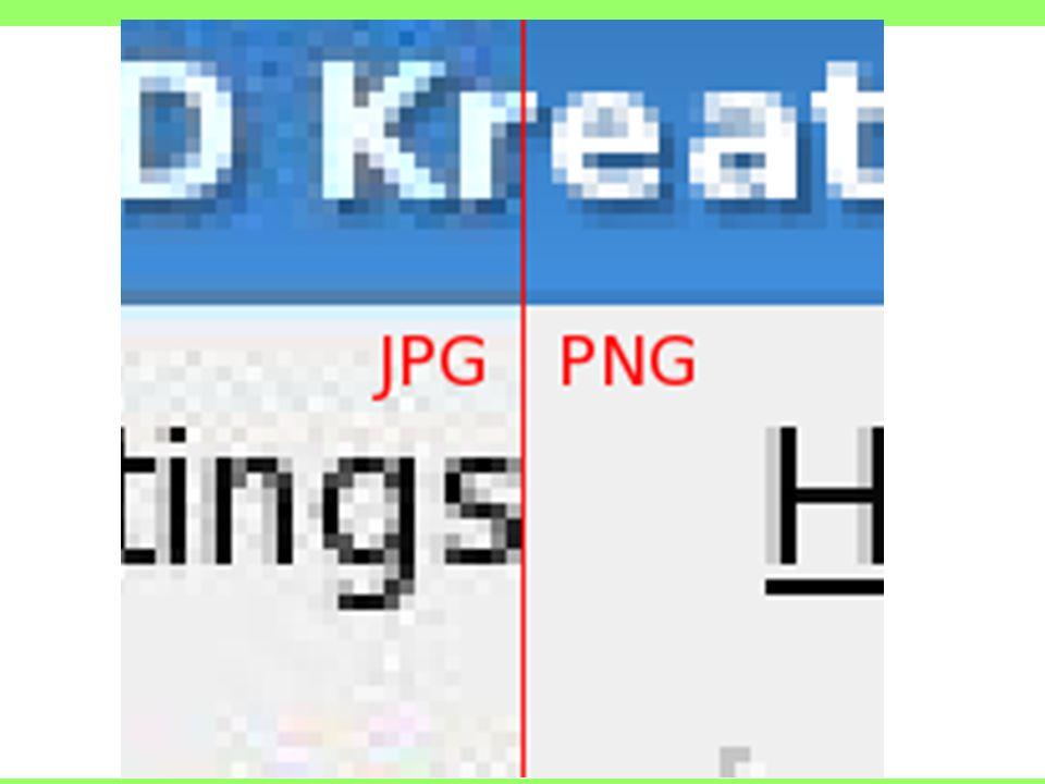 JPG vs. PNG