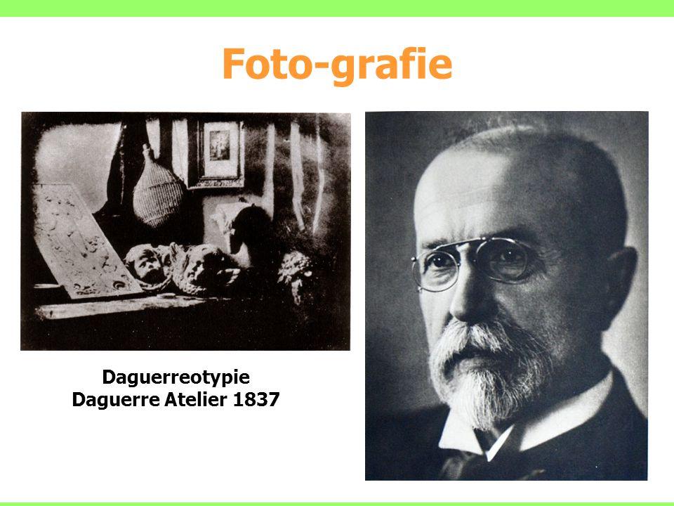 Daguerreotypie Daguerre Atelier 1837