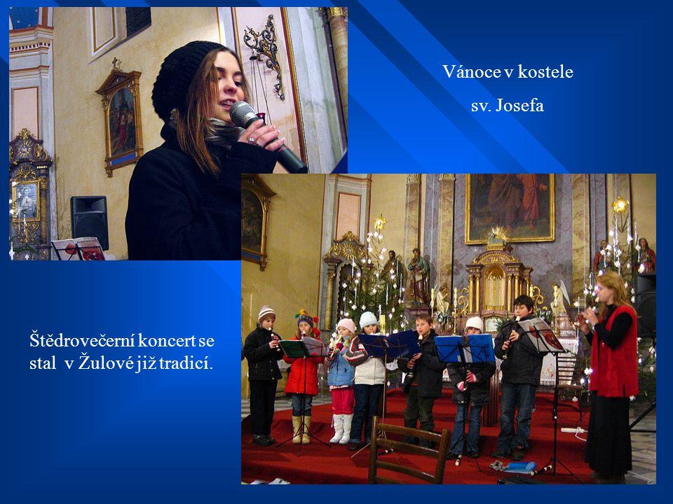 Vánoce v kostele sv. Josefa. Štědrovečerní koncert se stal v Žulové již tradicí.