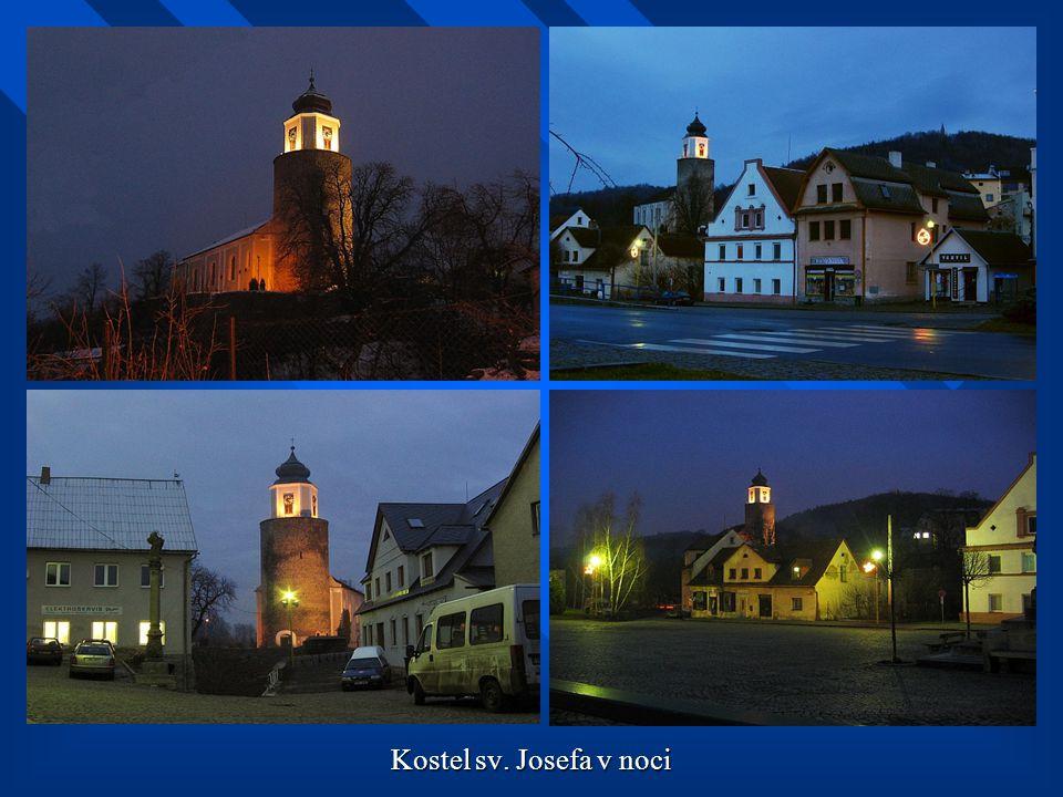 Kostel sv. Josefa v noci