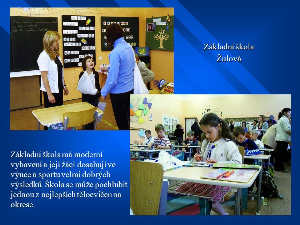 Základní škola Žulová.