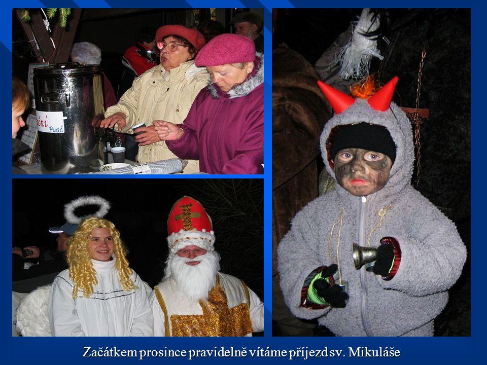 Začátkem prosince pravidelně vítáme příjezd sv. Mikuláše