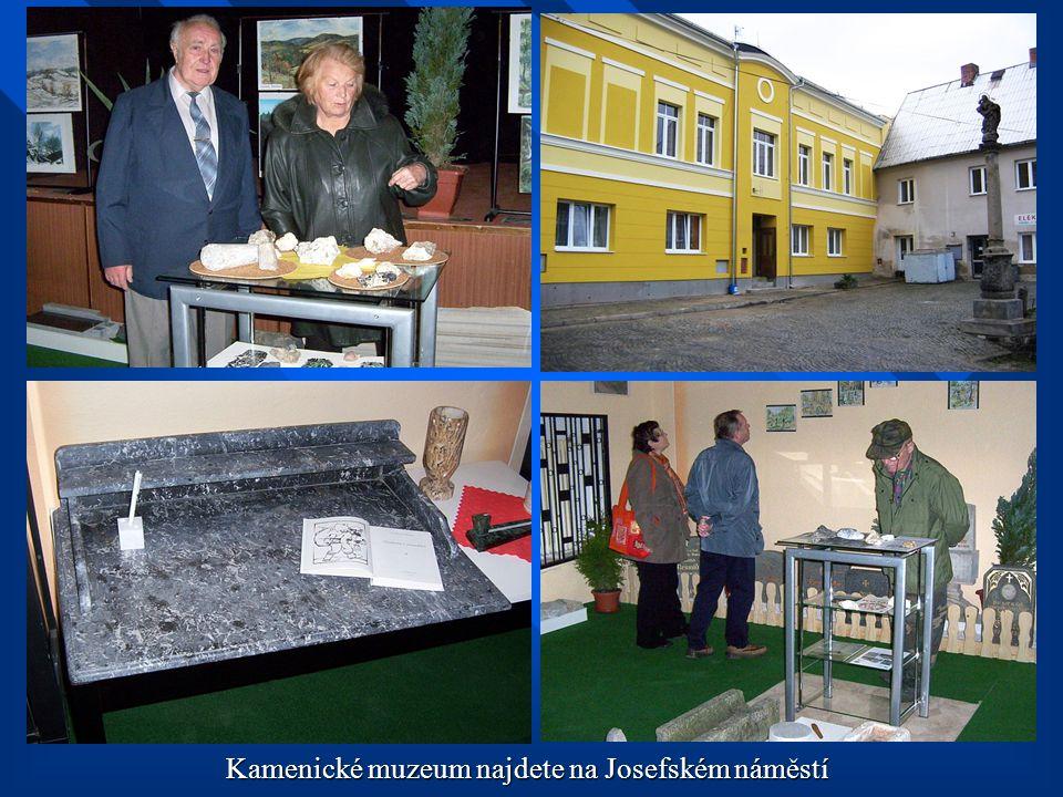 Kamenické muzeum najdete na Josefském náměstí