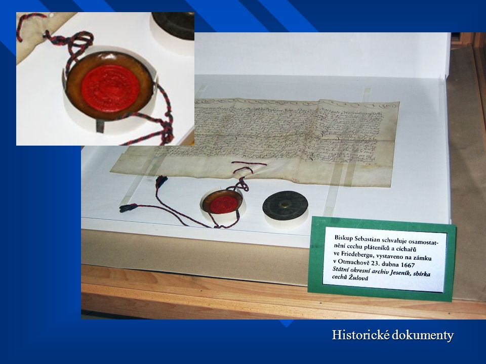 Historické dokumenty