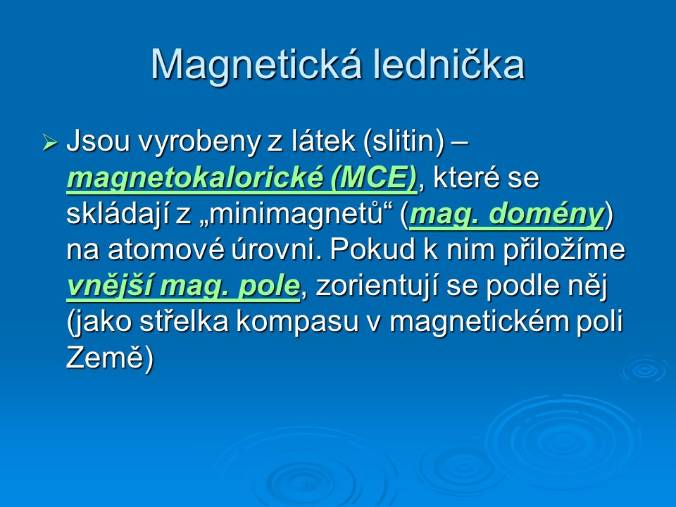 Magnetická lednička