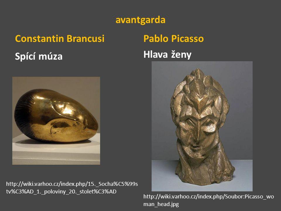 Pablo Picasso Hlava ženy