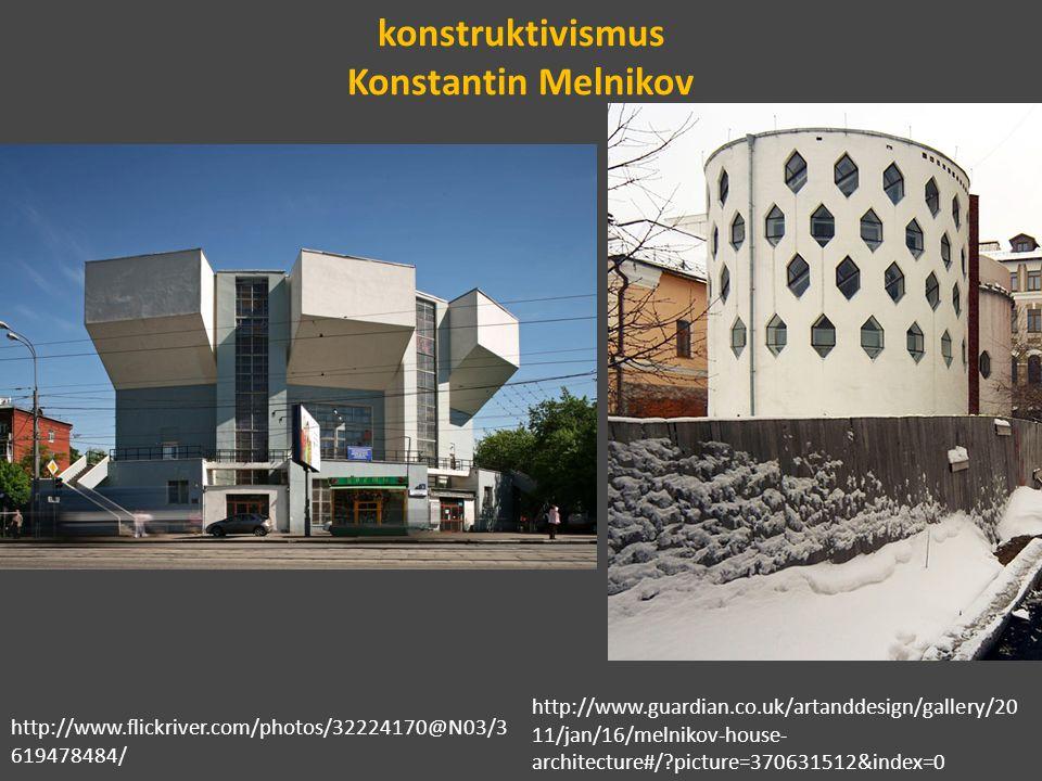 konstruktivismus Konstantin Melnikov