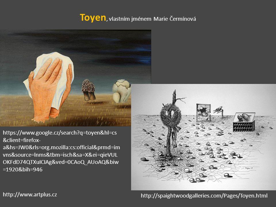Toyen, vlastním jménem Marie Čermínová