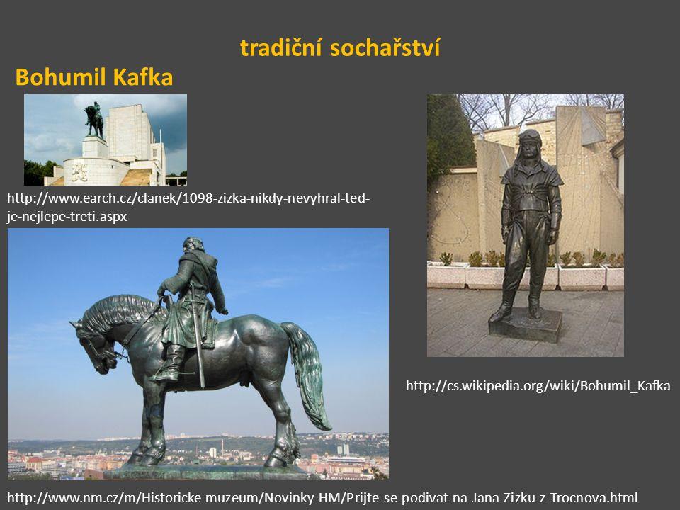 tradiční sochařství Bohumil Kafka