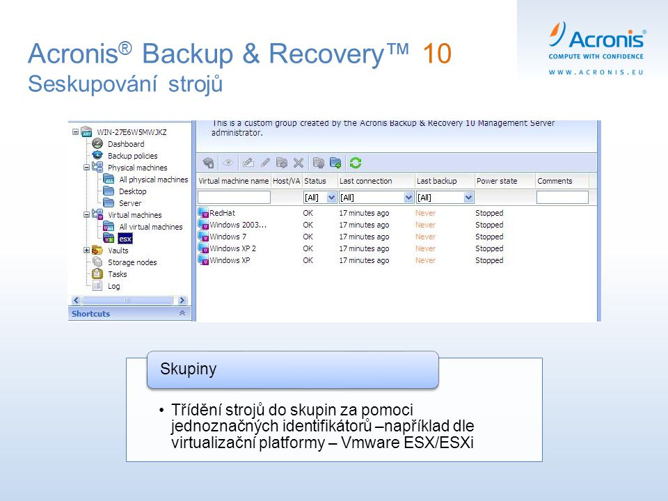 Acronis® Backup & Recovery™ 10