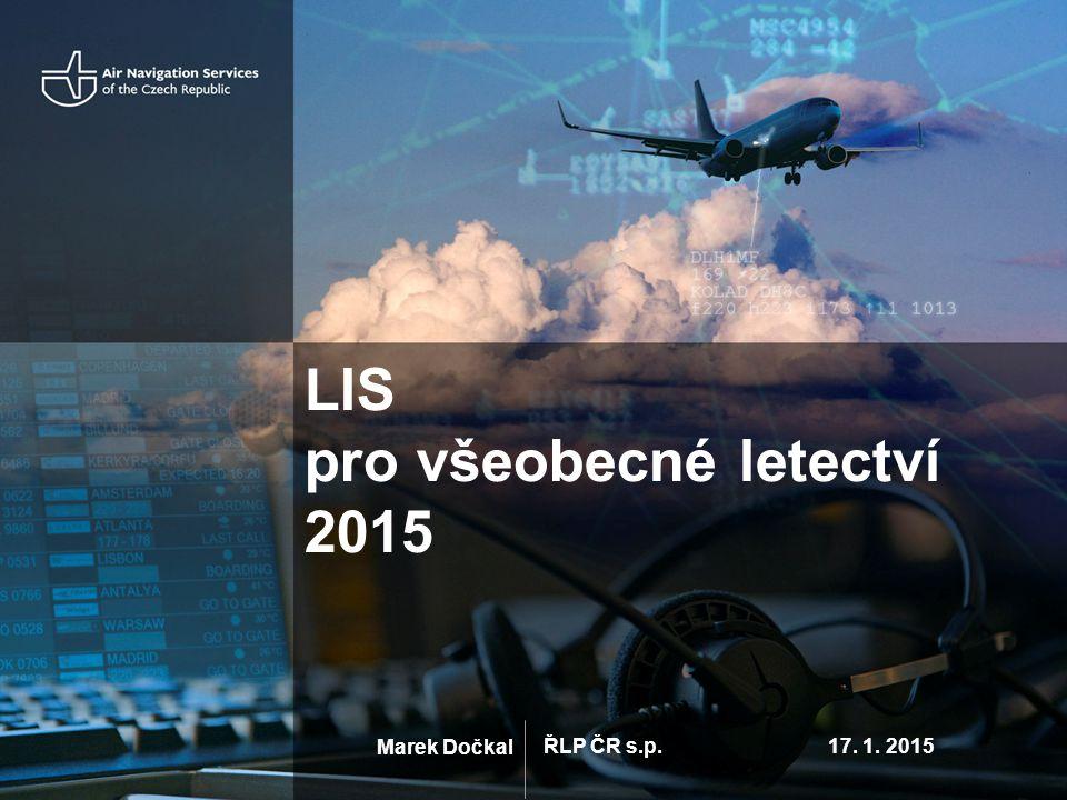 LIS pro všeobecné letectví 2015