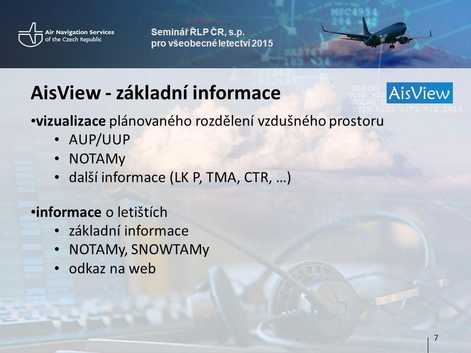 AisView - základní informace
