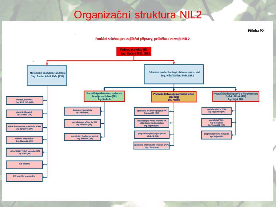 Organizační struktura NIL2