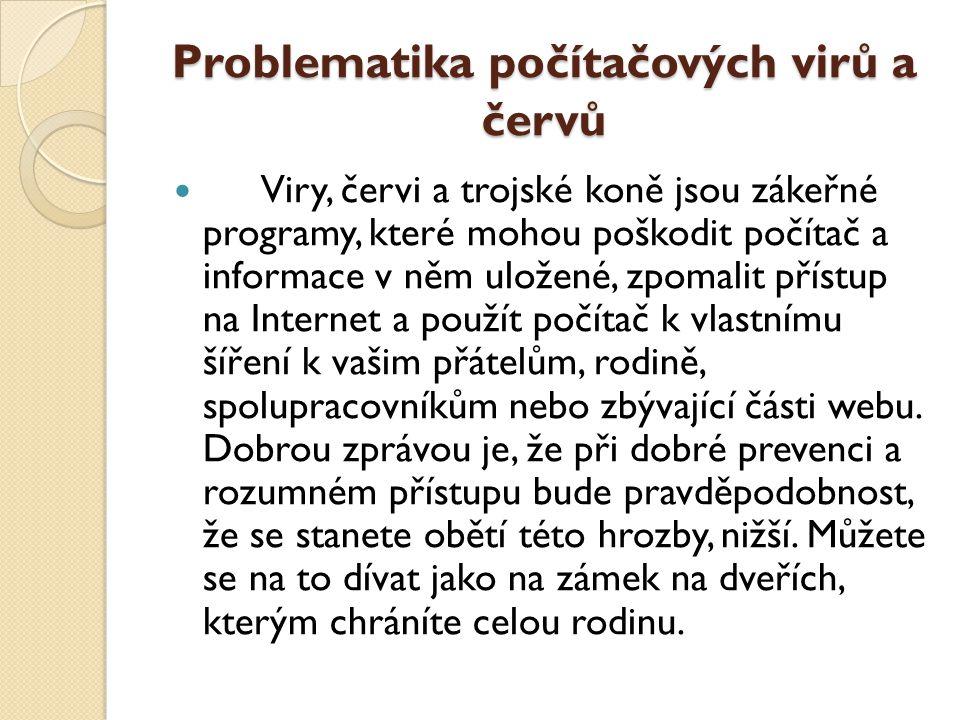 Problematika počítačových virů a červů