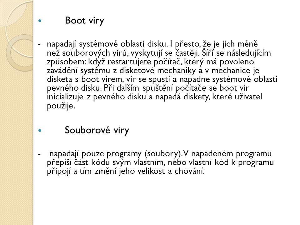 Boot viry