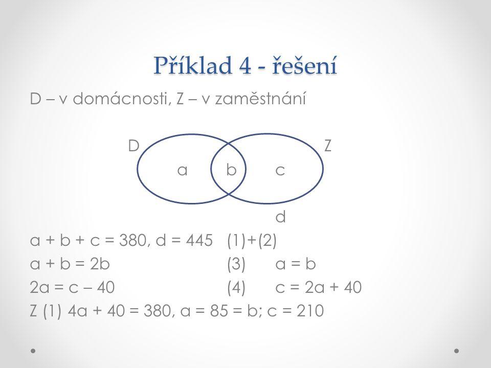 Příklad 4 - řešení
