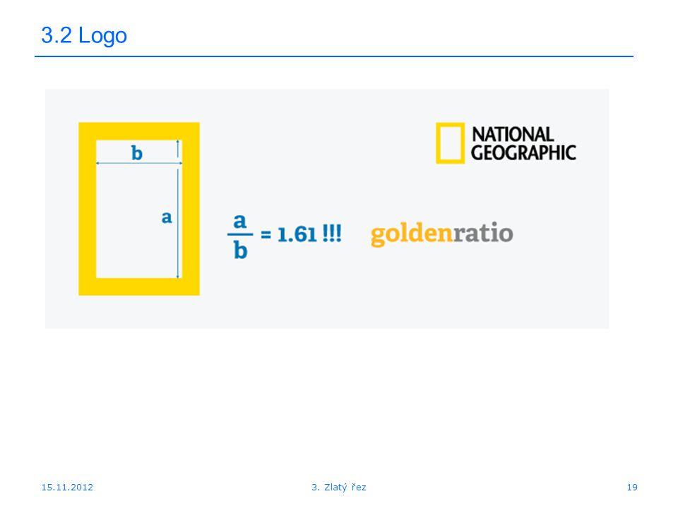 3.2 Logo 15.11.2012 3. Zlatý řez