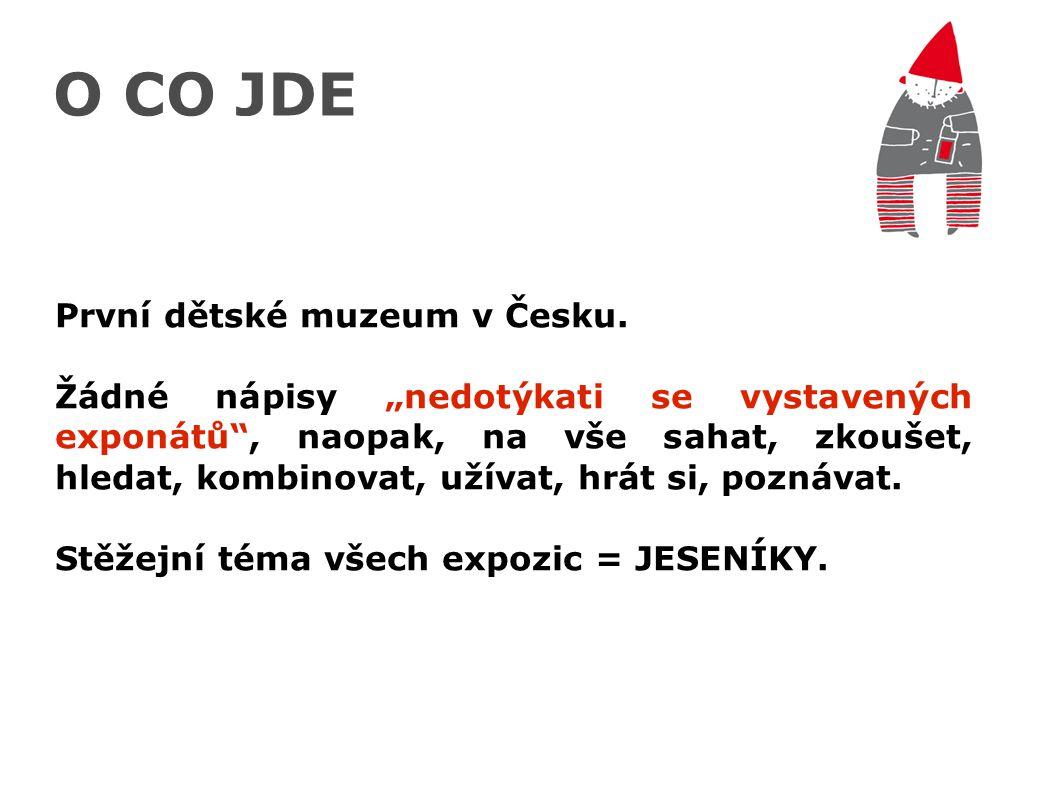 O CO JDE První dětské muzeum v Česku.