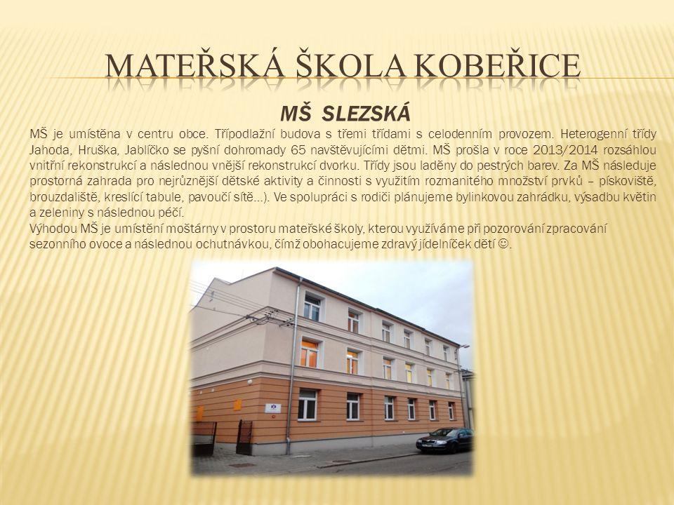 MATEŘSKÁ ŠKOLA KOBEŘICE