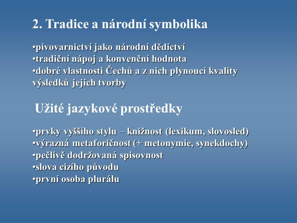 2. Tradice a národní symbolika