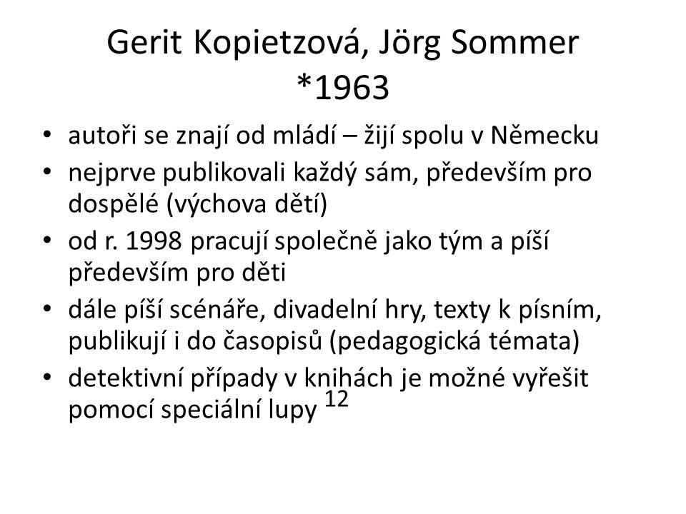 Gerit Kopietzová, Jörg Sommer *1963