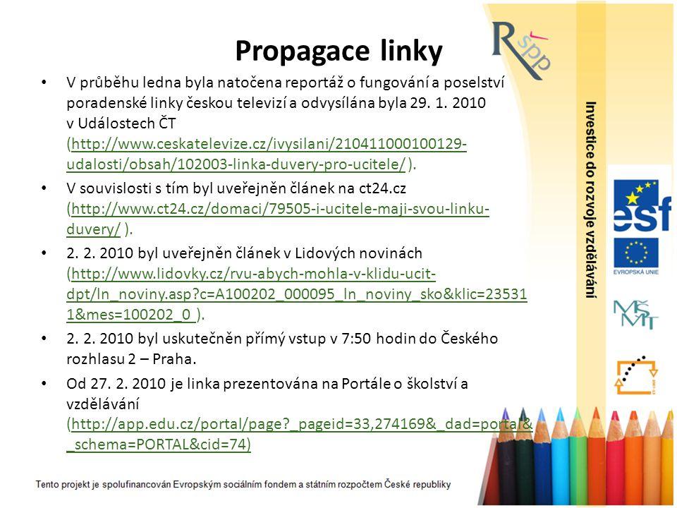 Propagace linky