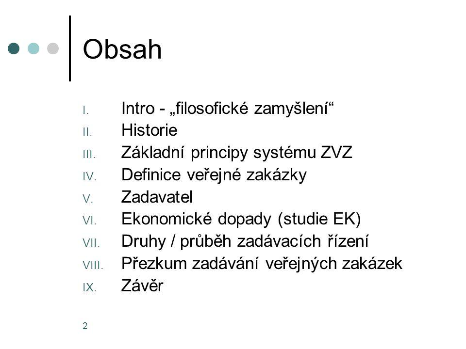 """Obsah Intro - """"filosofické zamyšlení Historie"""