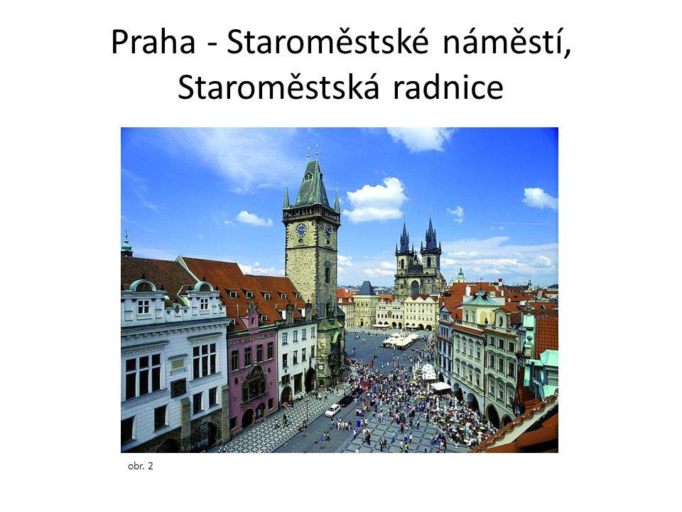 Praha - Staroměstské náměstí, Staroměstská radnice