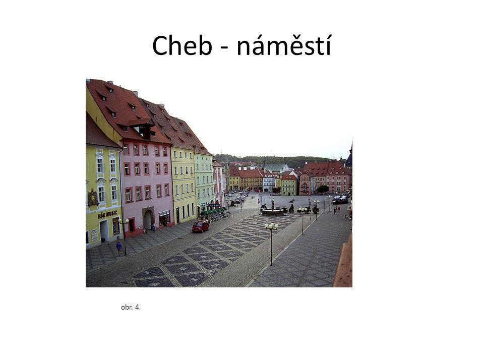 Cheb - náměstí obr. 4