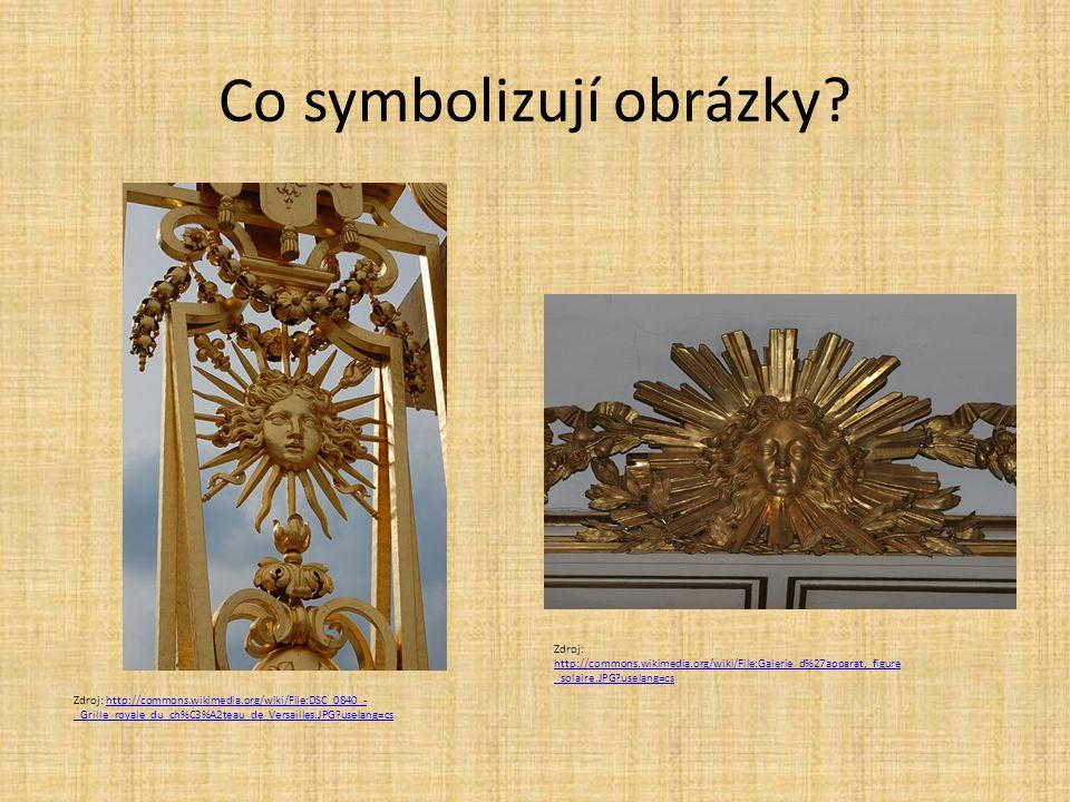 Co symbolizují obrázky