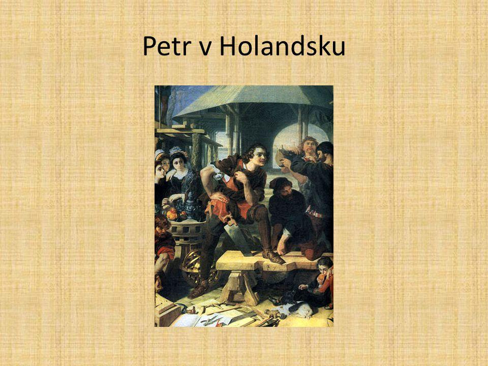 Petr v Holandsku
