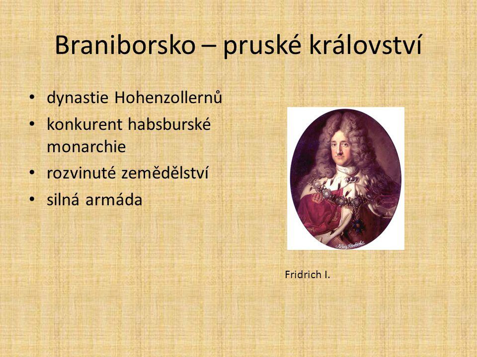 Braniborsko – pruské království