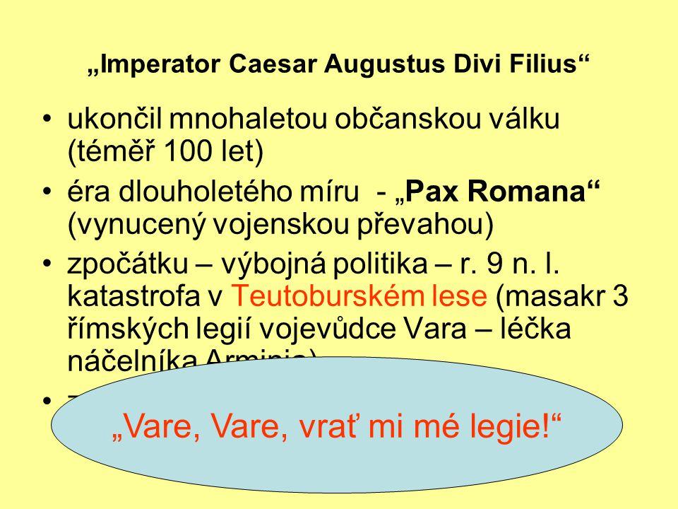 """""""Imperator Caesar Augustus Divi Filius"""